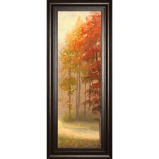 Fall Trees 1 Framed Painting Print
