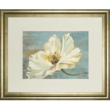White Peony by Patricia Pinto Framed Painting Print
