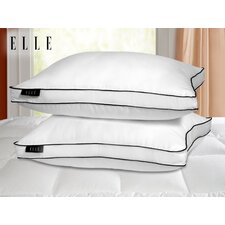 1200 Thread Count Cotton Rich Solid Pillow (Set of 2)