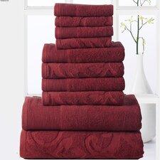 Elegance Spa 10 Piece Towel Set