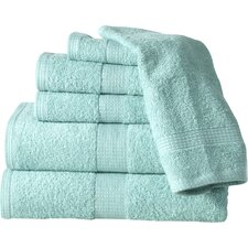 Supersoft Plush 6 Piece Towel Set