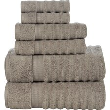 Elegance Spa 6 Piece Towel Set