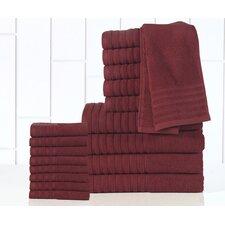 GSM Egyptian Quality Cotton 18 Piece Towel Set
