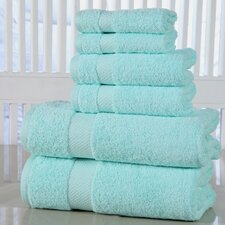 Elegance Spa Luxurious Cotton 600 GSM 6 Piece Towel Set