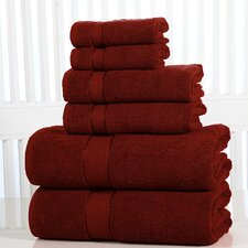 Elegance Spa Luxurious Cotton 600 GSM 6 Piece Towel Set