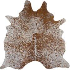 Natural Cowhide Salt & Pepper Brown Area Rug