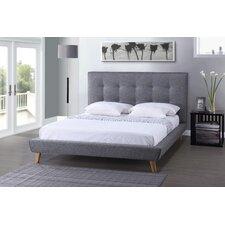 Baxton Studio Jonesy Upholstered Platform Bed