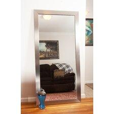 Modern Silver Floor Mirror