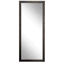 Clouded Bronze Floor Mirror