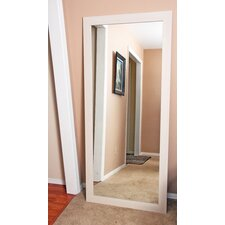 Classic Oyster Grain Floor Mirror