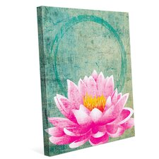 Bali 'Flower' by HWW Graphic Art on Wrapped Canvas