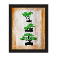 Bonsai Tree Framed Graphic Art