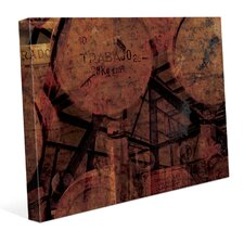 'Industrial Scales' Graphic Art on Wrapped Canvas