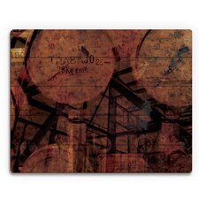 'Industrial Scales' Graphic Art on Plaque