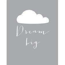 Dream Big Paper Print