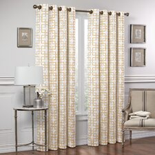 Marley Trellis Window Drape Single Panel