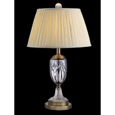 "Traditional 26"" H Table Lamp with Empire Shade"