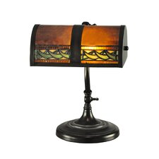 """Egyptian 14"""" H Table Lamp with Rectangular Shade"""