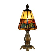 """Cavan Tiffany Accent 12.75"""" H Table Lamp with Empire Shade"""