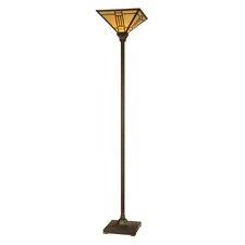 """Noir Mission 71.25"""" Torchiere Floor Lamp"""