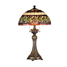"""Victorianna Aldridge 26"""" H Table Lamp with Bowl Shade"""