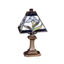"""Irene Mini 11"""" H Table Lamp with Empire Shade"""
