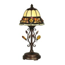 """Pebblestone 15.25"""" H Table Lamp with Bell Shade"""