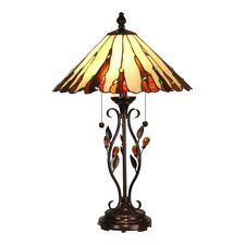"""Ripley 27.5"""" H Table Lamp with Empire Shade"""