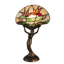 """Water Lily 15.3"""" Table Lamp"""