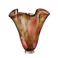 Paprika Ruffle Vase