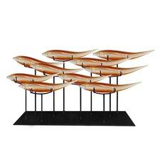 10 Fish Sculpture
