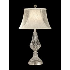 """26.5"""" H Table Lamp with Empire Shade"""