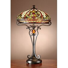 """Boehme 28"""" H Table Lamp with Bowl Shade"""