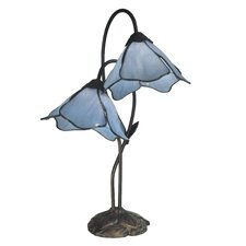 "Poelking Lily 21"" H Table Lamp with Novelty Shade"