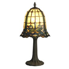 """Cabrini Mini 19.5"""" H Table Lamp with Bell Shade"""