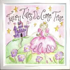 Fairy Tales Do Come True Deco Framed Art