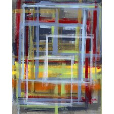 Paint Table Abstract Canvas Art