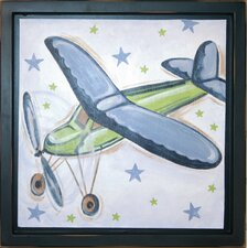 Plane Deco Framed Art