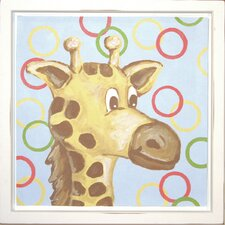 Giraffe Deco Framed Art