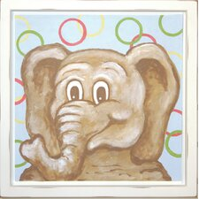 Elephant Deco Framed Art