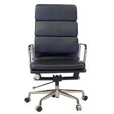 Mid Century High-Back Executive Office Chair