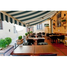 Electric Luxury Semi-Cassette Awning