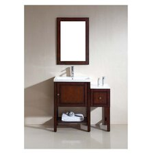 American Solid Wood and Plywood Frame Mirror