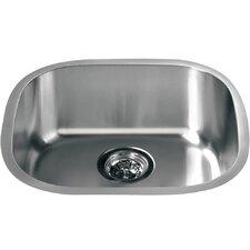 """18.19"""" x 16.63"""" Under Mount Single Bowl Kitchen Sink"""