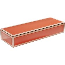 Glass Oblong Jewelry Box