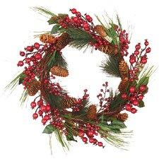 Mixed Weatherproof Berry Wreath