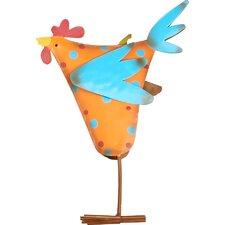 Colorful Chicken Figurine