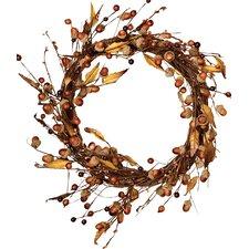 "Acorn/Leaf 14"" Wreath"