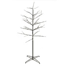 6' Artificial Christmas Tree with 96 Warm Clear LED