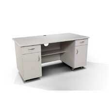 Commercial Grade Standing Desk with Ample Storage